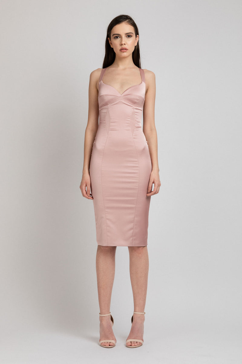 Haze Dress Blush