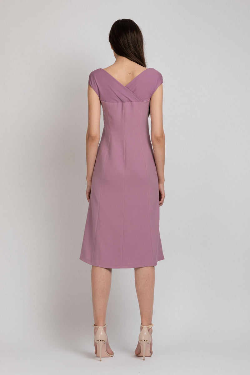 Snap Dress Lavender