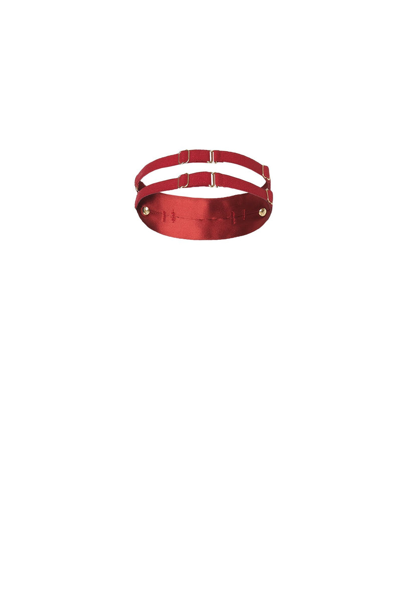 Secure Collar Red