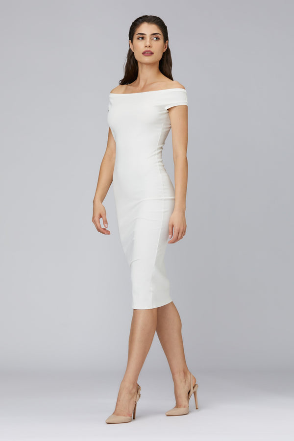 Shape Dress White
