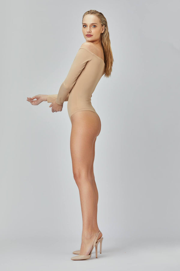 Shape Bodysuit Nude