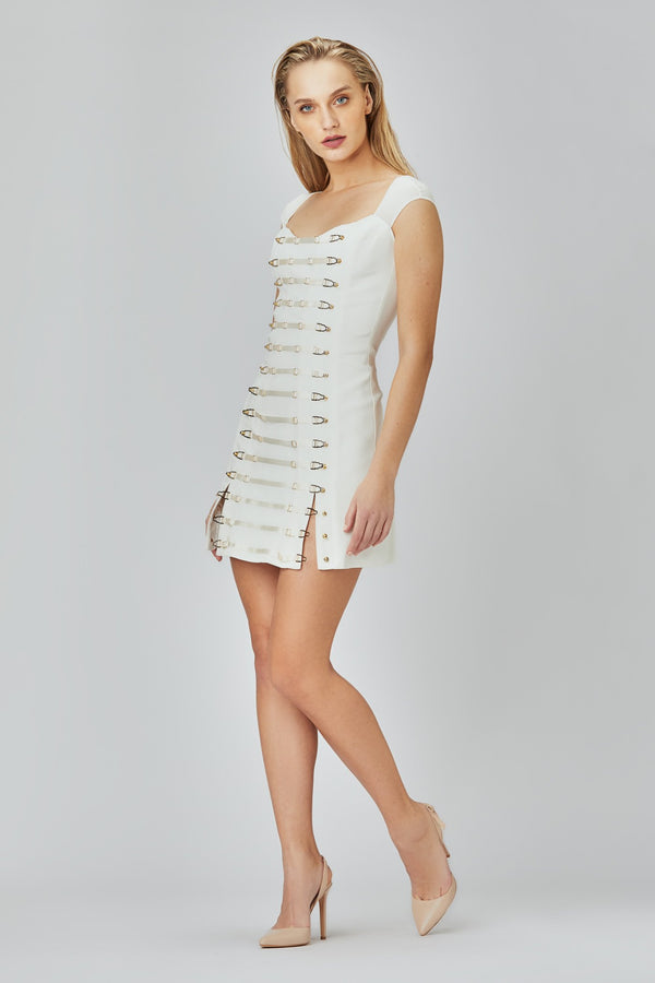 Secure Dress White