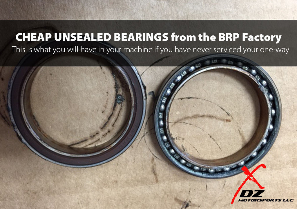 CAN-AM ONE WAY PRIMARY BEARINGS – DZ MOTORSPORTS LLC