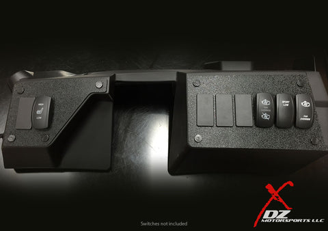 DZ Combo Two & Six Switch Panel Dash Plates