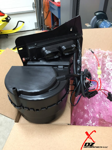 CAN-AM COMMANDER & MAVERICK CAB HEATER / DEFROST SYSTEM