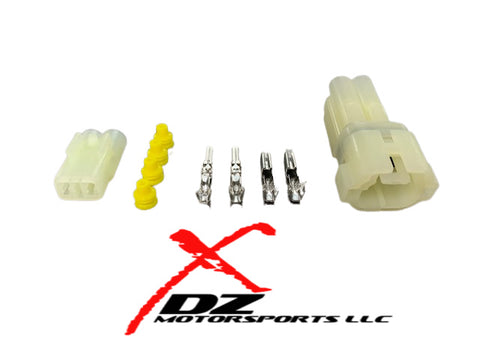 HONDA 2 POSTION MALE / FEMALE CONNECTOR SET