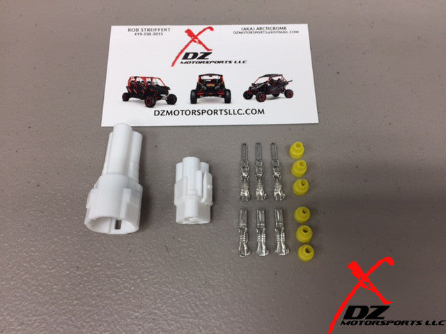 YAMAHA YXZ 3 WIRE CONNECTOR KIT – DZ MOTORSPORTS LLC on make your own vacuum pump, make your own air cleaner, make your own lights, make your own horn, make your own mirror, make your own hardware, make your own tires, make your own transformer, make your own antenna, make your own generator, make your own cover, make your own controller, make your own spring, make your own motor, make your own computer, make your own intercooler, make your own fender, make your own engine, make your own clutch, make your own gaskets,