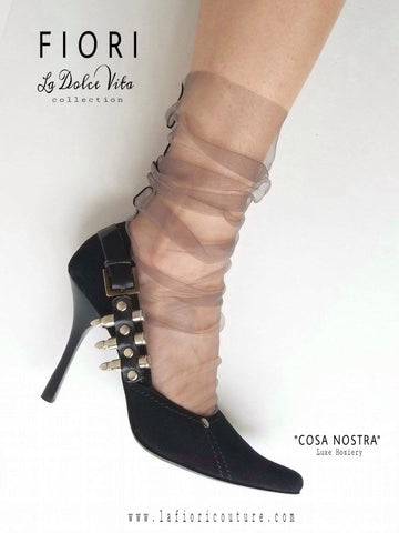 """La Dolce Vita"" Collection GUN SMOKE -Cosa Nostra"