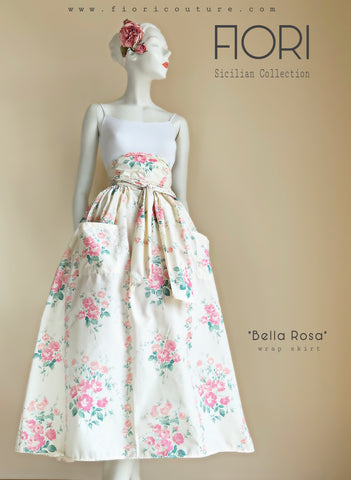 Bella Rosa Wrap Skirt