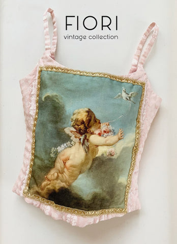 Cupid with Dove Bustier