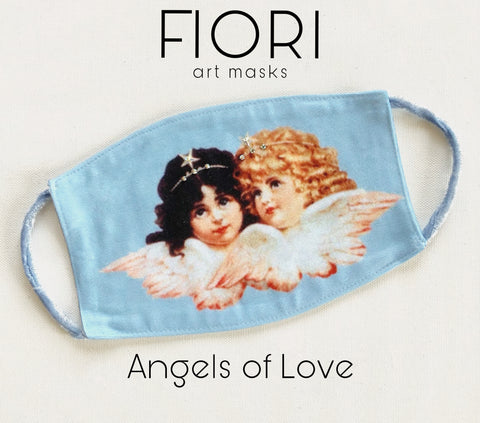 ANGELS OF LOVE Art Mask