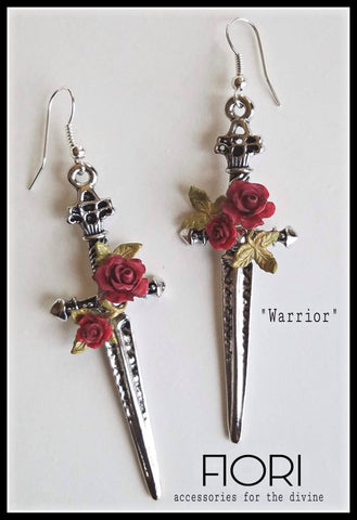 WARRIOR TRIBUTE Earrings