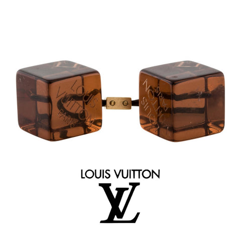 Vintage Louis Vuitton hair cubes