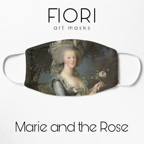 MARIE AND THE ROSE Art Mask back order