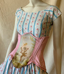 """LOVE AS FOLLY""  Under-Bust Corset"