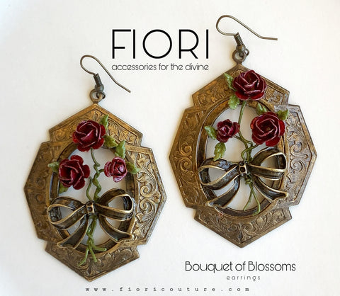 BOUQUET OF BLOSSOMS earrings