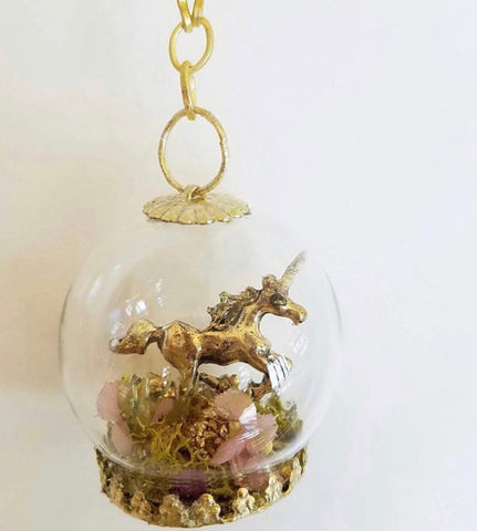 The Last Unicorn  necklace