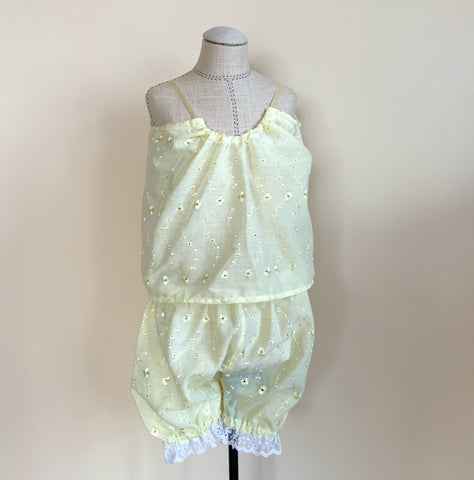 Sweet Lemoncello Eyelet Set