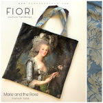Marie and The Rose Jacquard French Tote
