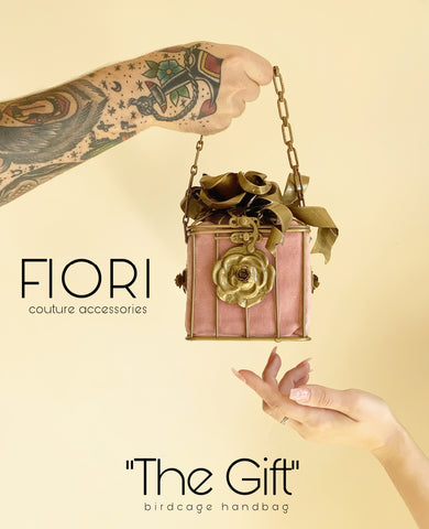 THE GIFT Birdcage Handbag