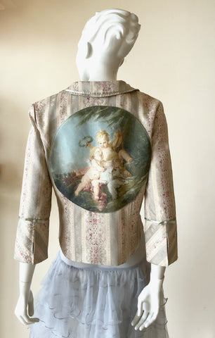 """An Allegory Of Poetry""  Vintage Jacket"