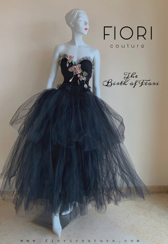 THE BIRTH OF FIORI couture gown