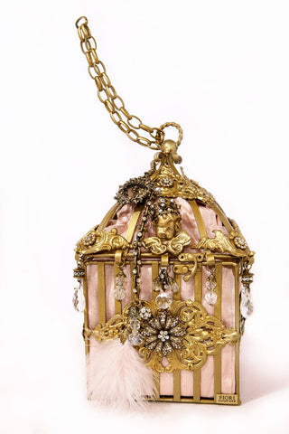 THE HALL OF MIRRORS Birdcage Handbag