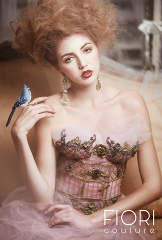 The  Vintage Birdcage Corset  (The Original)