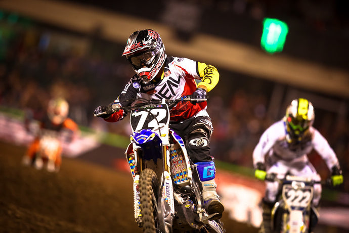 51FIFTY Energy Drink Yamaha - Anaheim 2 Supercross Race Report