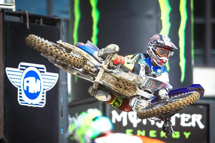 51FIFTY Energy Drink Yamaha - Oakland Supercross Race Report - Zach Bell Injured - Rookie Mellross 13th
