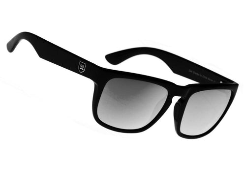 Huckleberry - Gloss Black / Black Iridium Lens