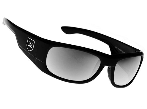 Qualifier - Gloss Black / Black Iridium Lens