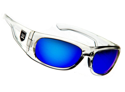 Qualifier - Crystal Clear / Blue Iridium Lens