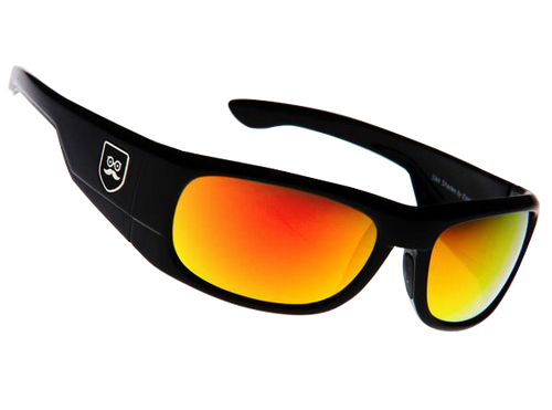 Qualifier - Gloss Black / Red Iridium Lens