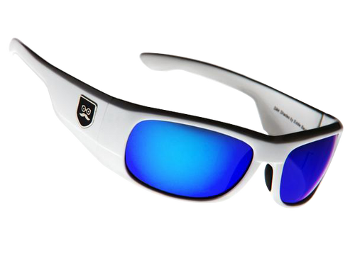 Qualifier - Crisp White / Blue Iridium Lens
