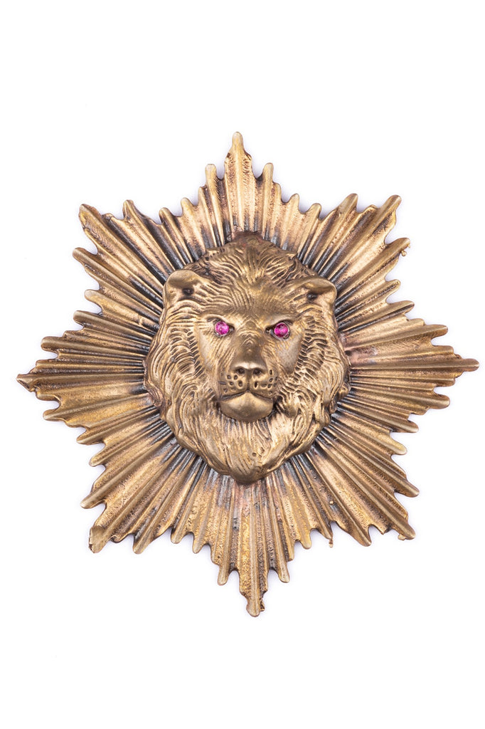 The Lion Power Brooch