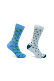 Mint & Oak Set of 2 socks - Transport