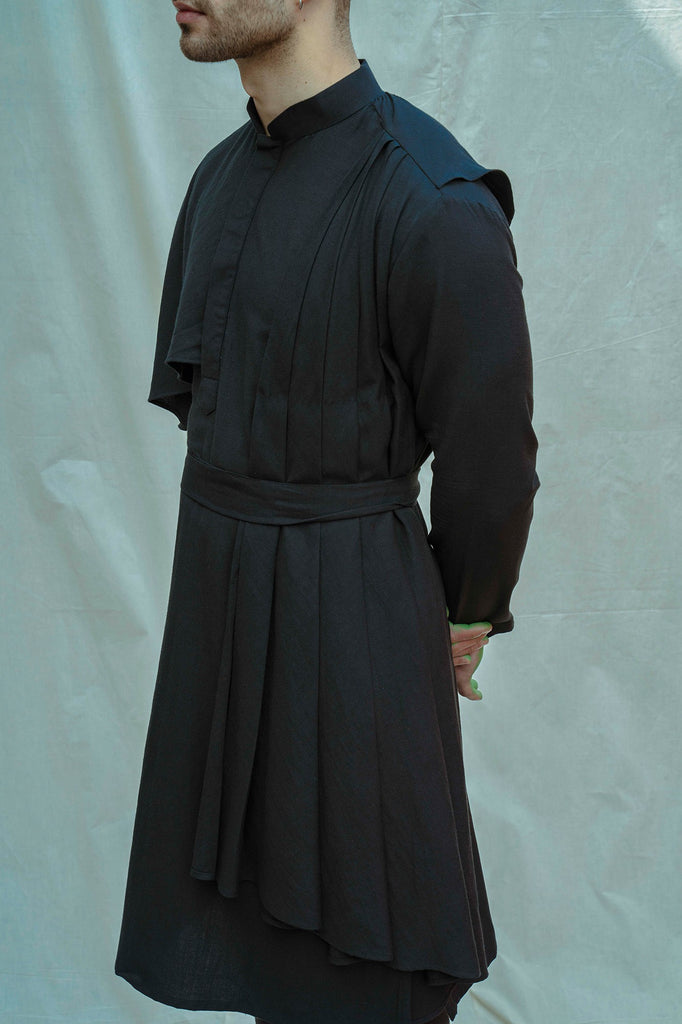 Black kurta and pants