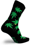The Moja Club Black Weed Socks
