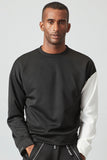 SCUBA SWEATSHIRT WITH WHILE SLEEVE