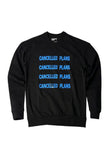 100% Recycled Cotton Sweatshirt 4x blue logo 2
