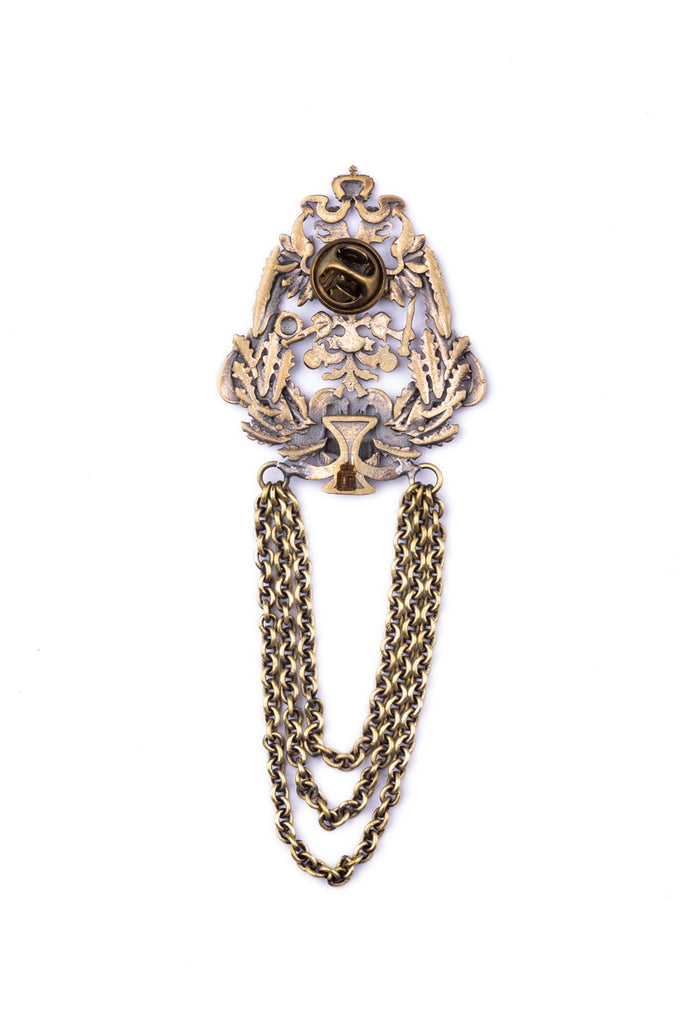 The Thompson Chained Brooch