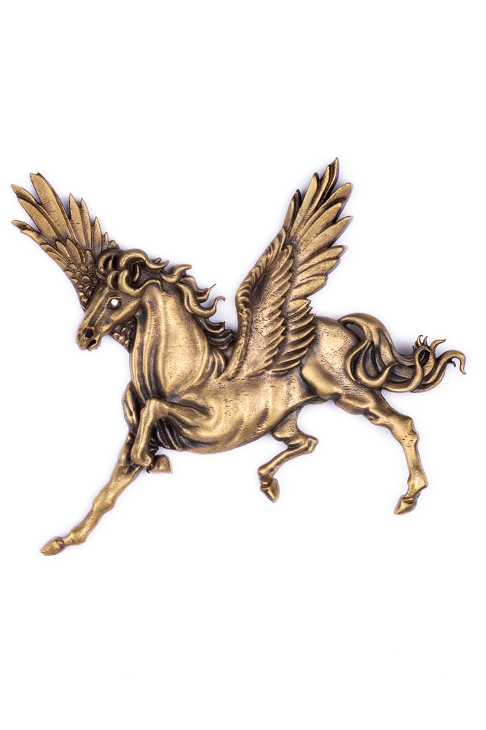 The Winged Horse brooch