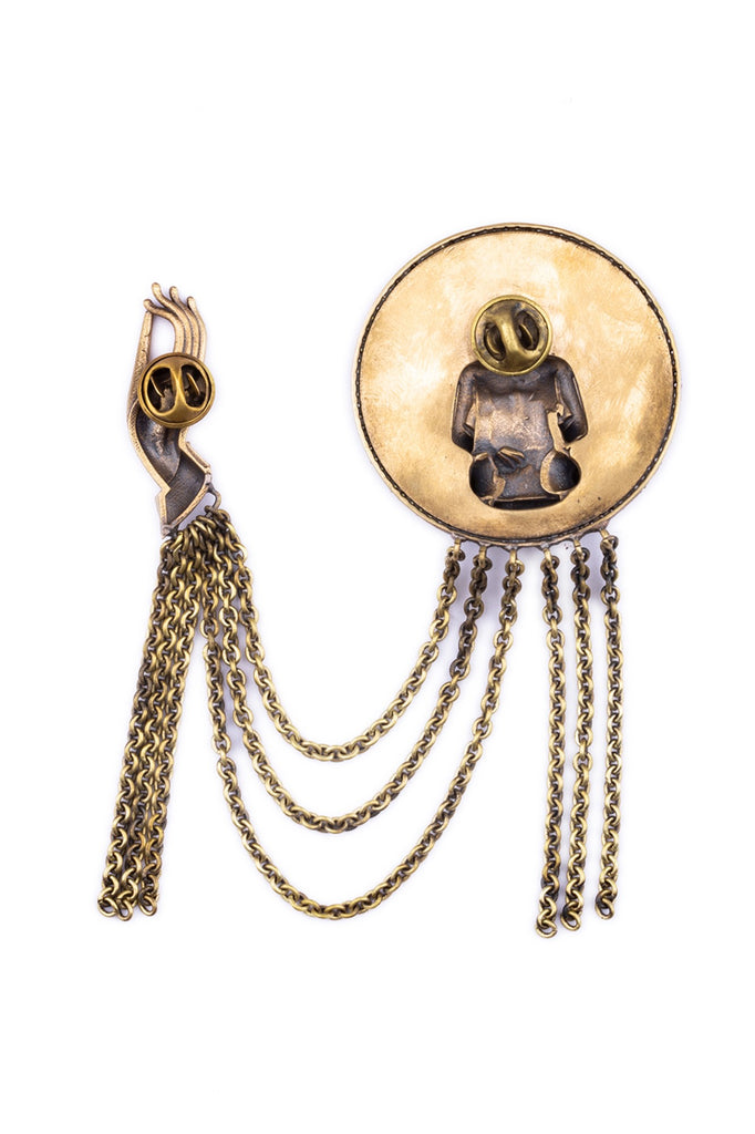 The Buddha-myth Brooch