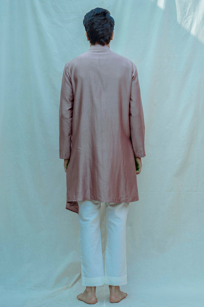 Mauve Kurta and pants