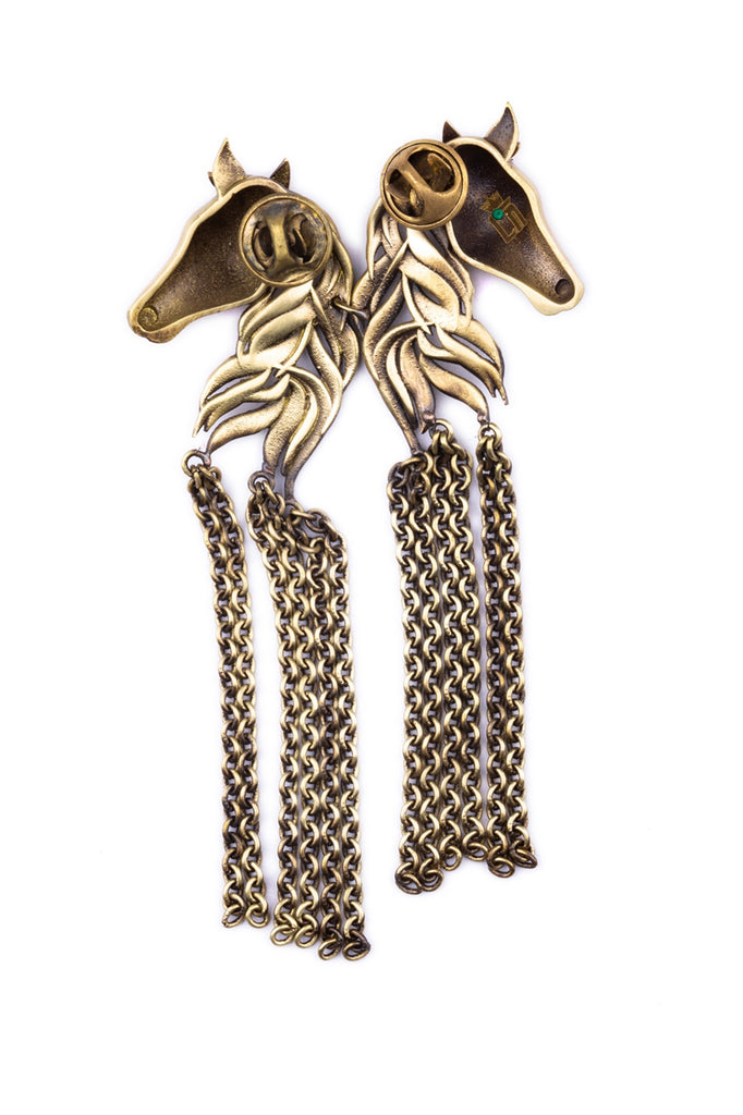 The Dangled Horses Brooch