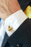 Honey Bee cufflink