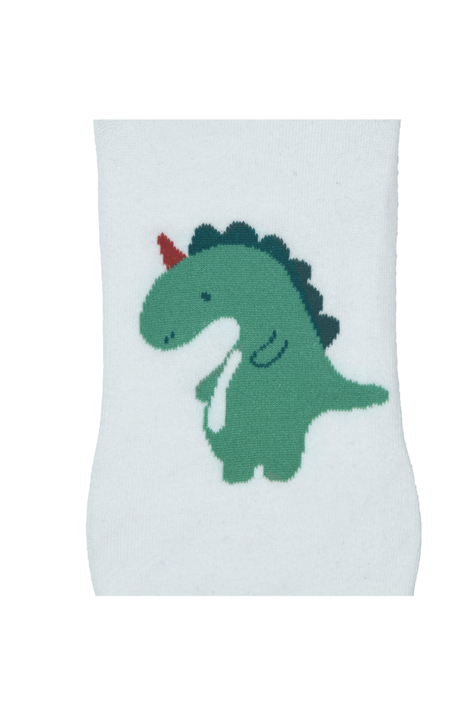 TOFFCRAFT - Baby Dino Graphic Low Cut Ankle Socks