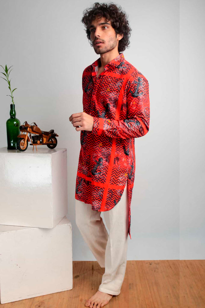 Oberoi Long Shirt