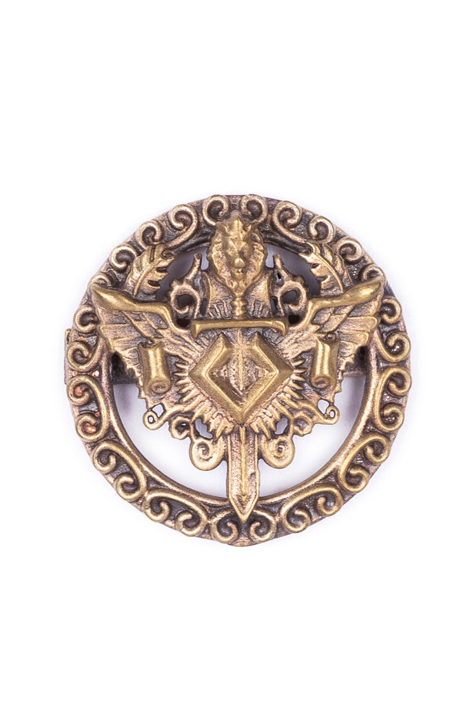 The Knight Lion Shield Cufflink